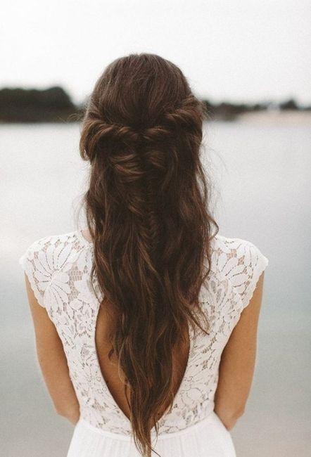 Quelle coiffure avec une robe dos nu ?? 2