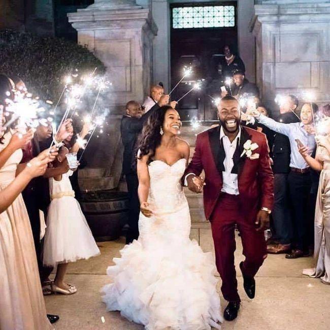 Que lancer pour la sortie des mariés? 3