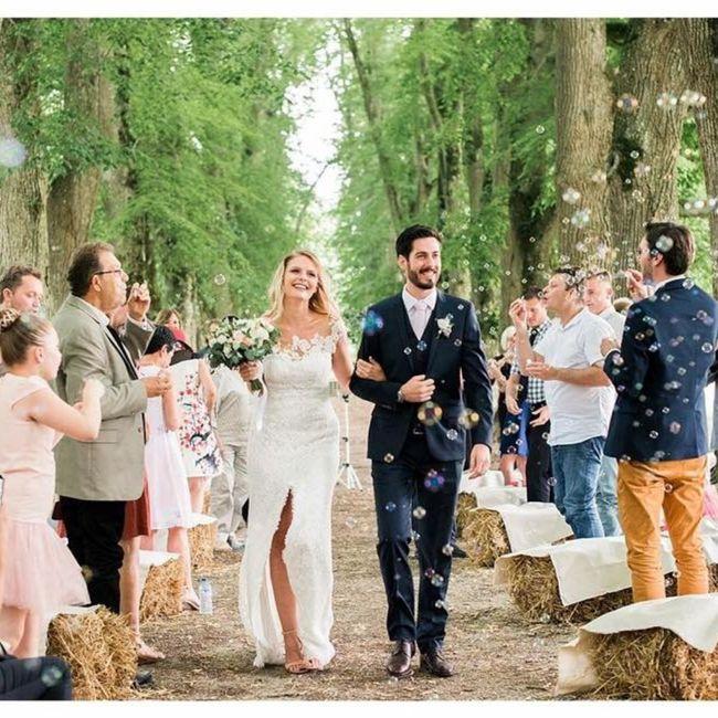 Que lancer pour la sortie des mariés? 5