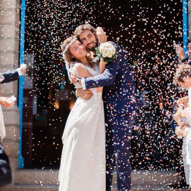 Que lancer pour la sortie des mariés? 6