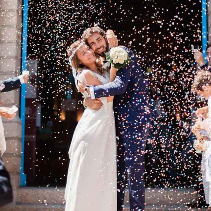 Que lancer pour la sortie des mariés? - 6