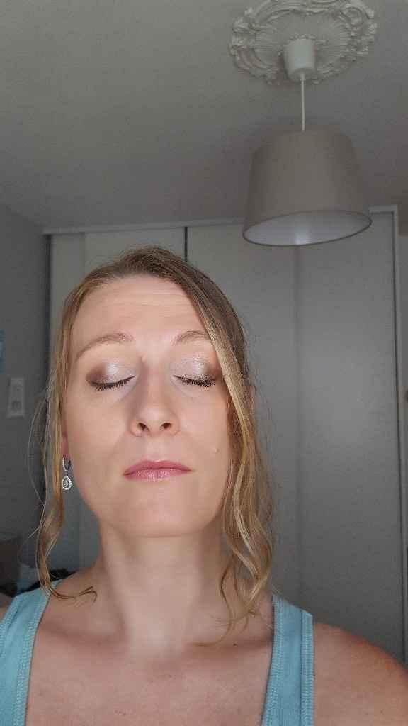 Mon essai make up - 2