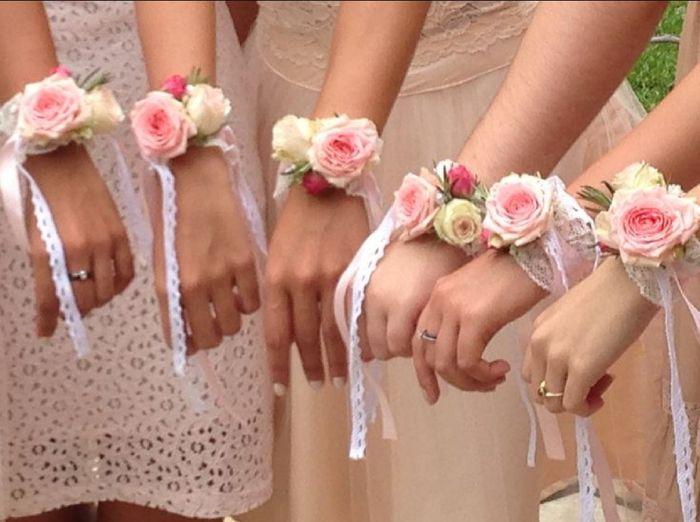Inspiration : bracelet fleurs pour témoin/ dh - 4