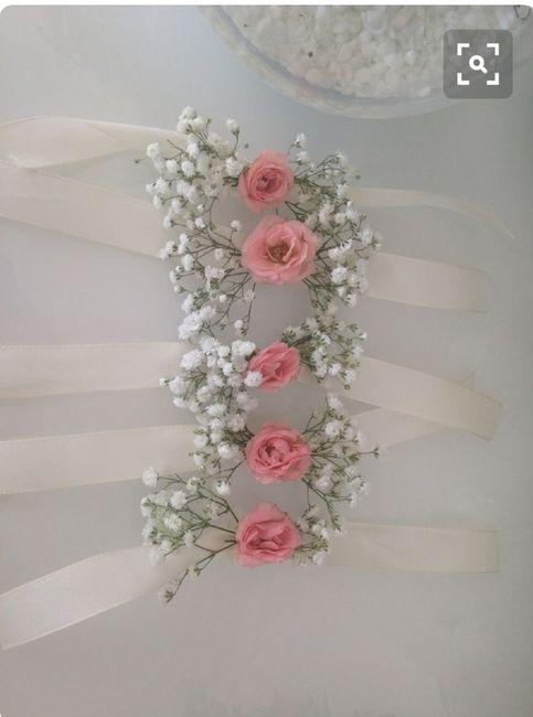 Inspiration : bracelet fleurs pour témoin/ dh - 5