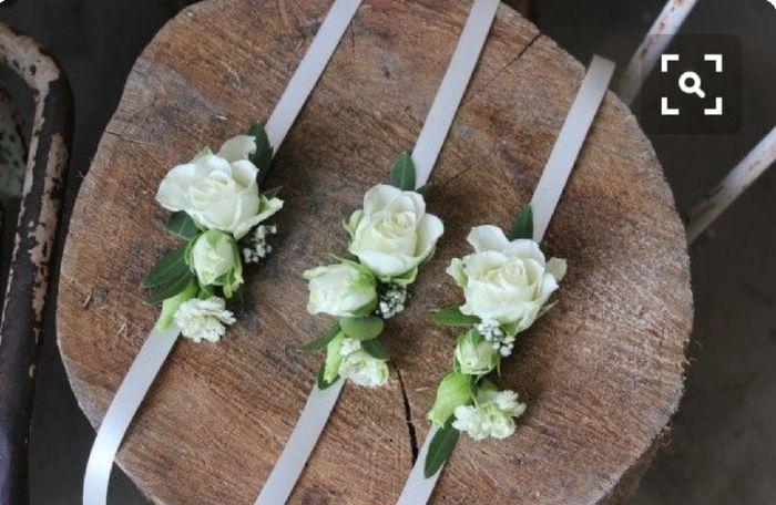 Inspiration : bracelet fleurs pour témoin/ dh - 6