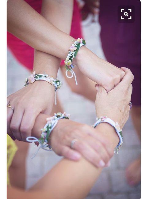 Inspiration : bracelet fleurs pour témoin/ dh - 7
