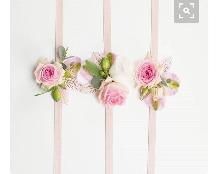 Inspiration : bracelet fleurs pour témoin/ dh - 8