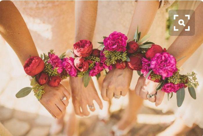 Inspiration : bracelet fleurs pour témoin/ dh - 9