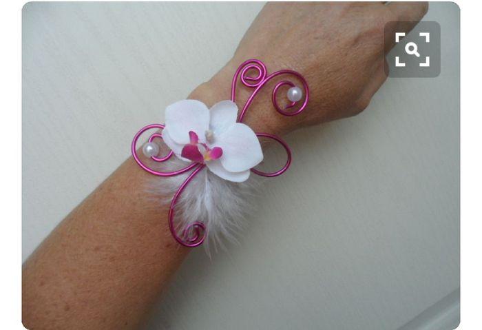 Inspiration : bracelet fleurs pour témoin/ dh - 10