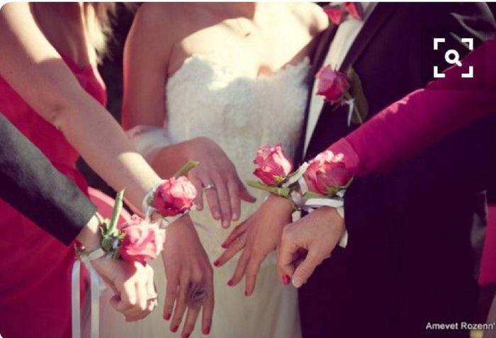 Inspiration : bracelet fleurs pour témoin/ dh - 11