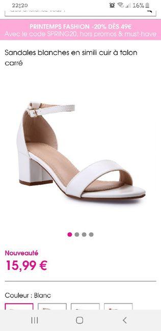 Chaussure de mariée 1