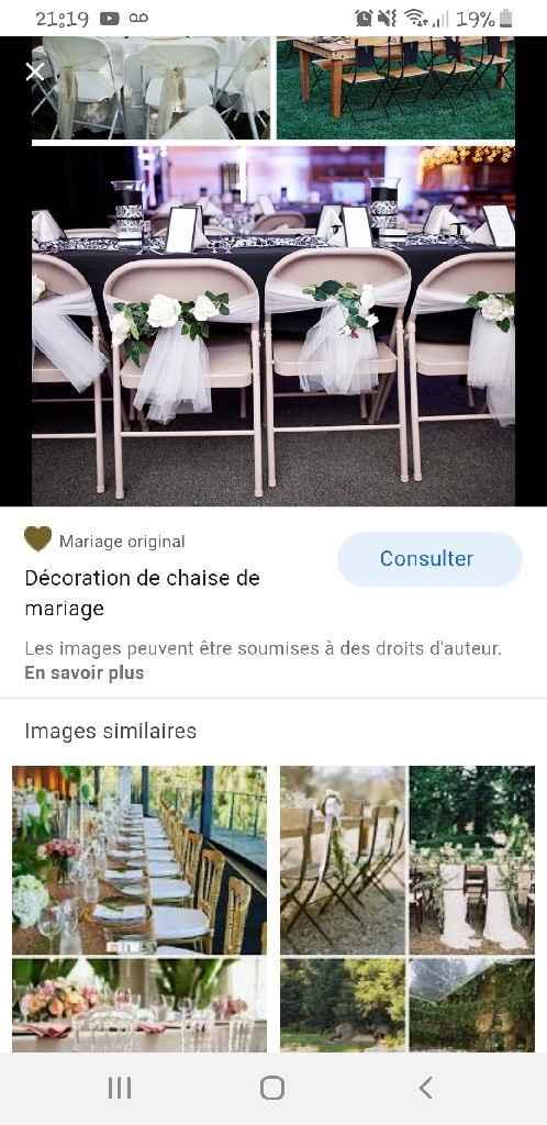 Avis: décoration chaises - 1