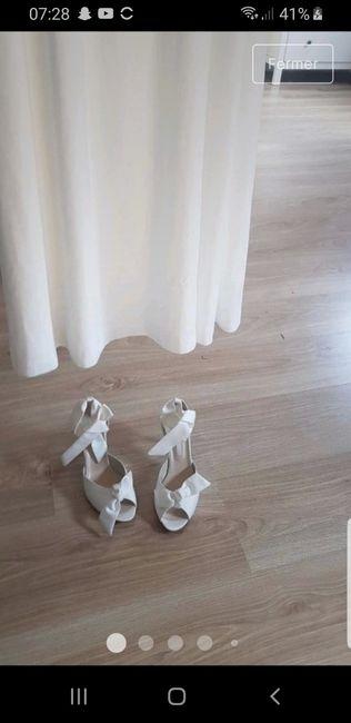 Vinted : chaussures de mariée. 6