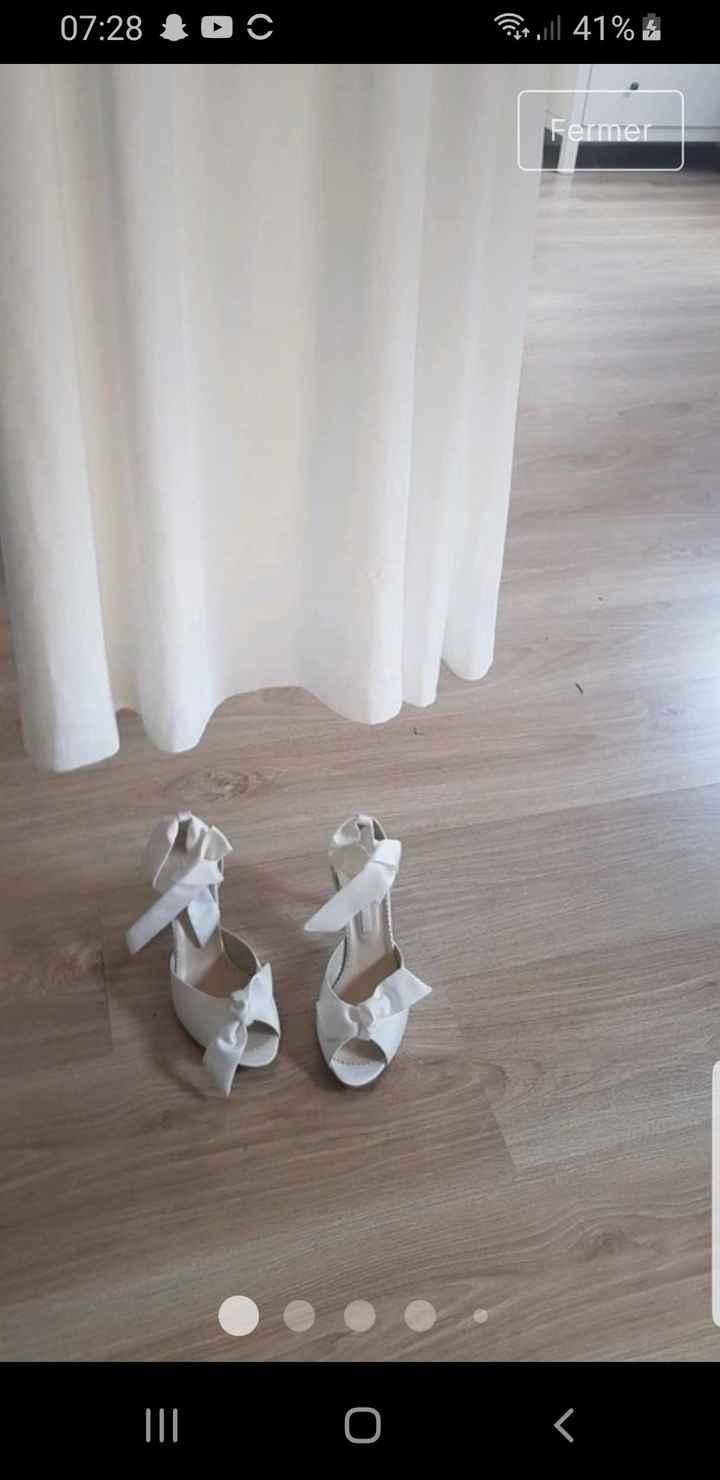 Vinted : chaussures de mariée. - 1