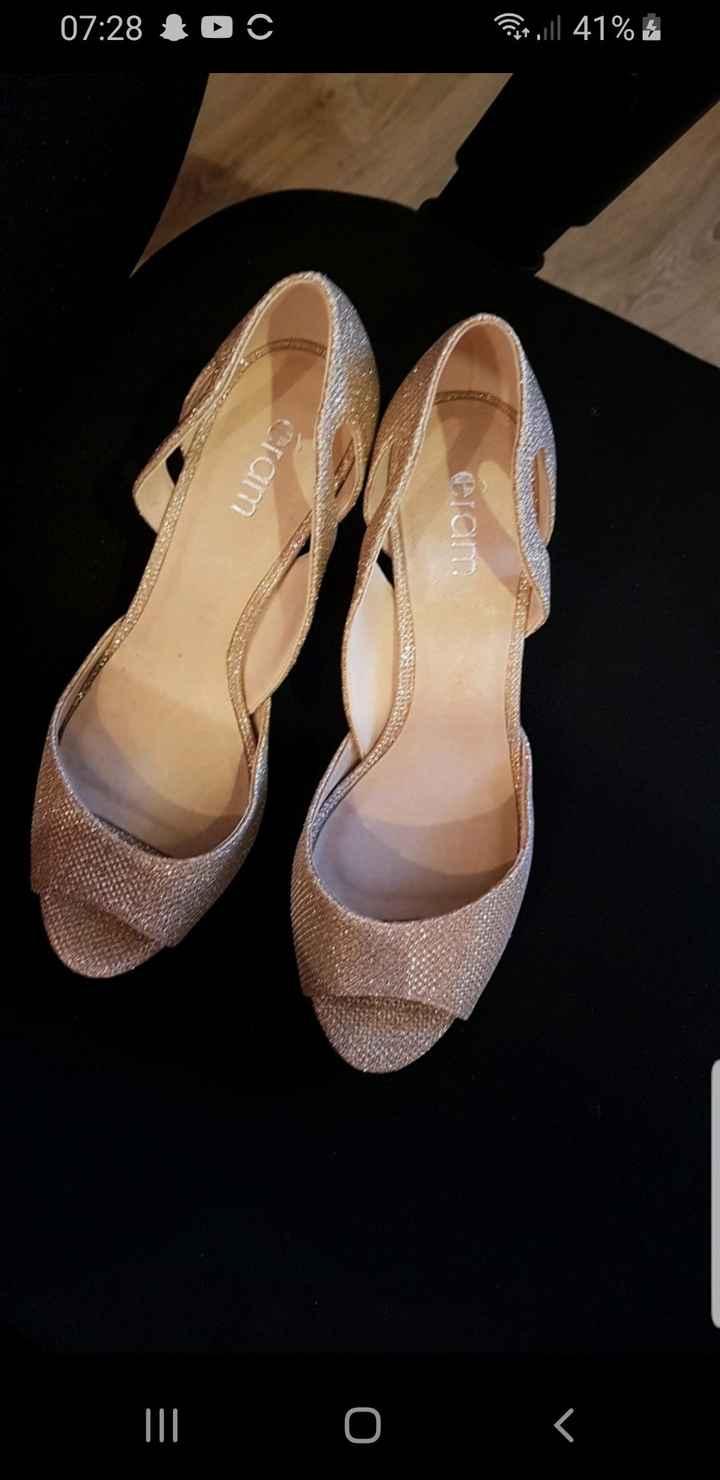 Vinted : chaussures de mariée. - 2