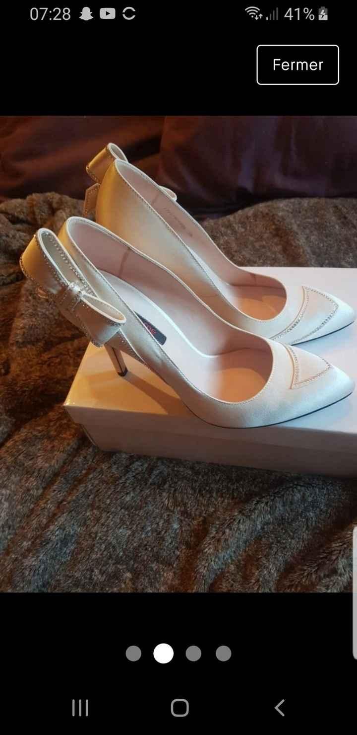 Vinted : chaussures de mariée. - 3