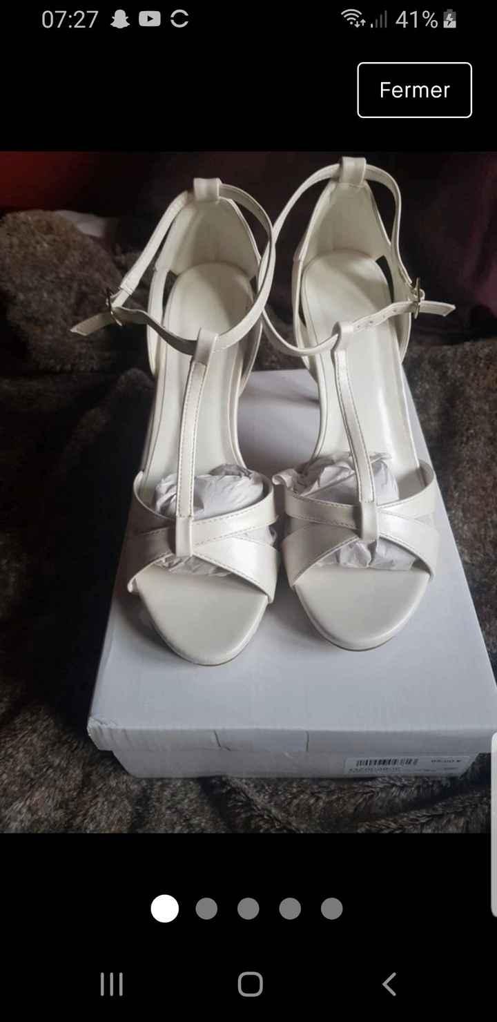 Vinted : chaussures de mariée. - 4