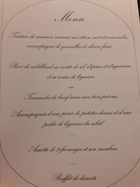 Poisson et viande au menu? 1
