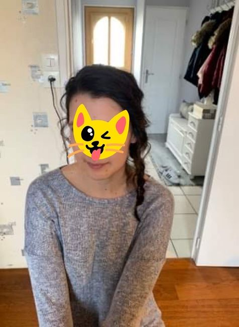 Premier essai coiffure - 1