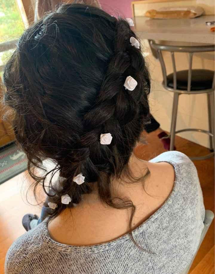 Premier essai coiffure - 2