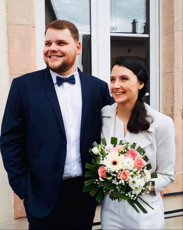 Notre mariage civil - 1