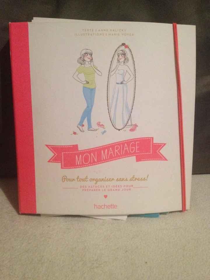 Journal ou cahier de bord du mariage - 1