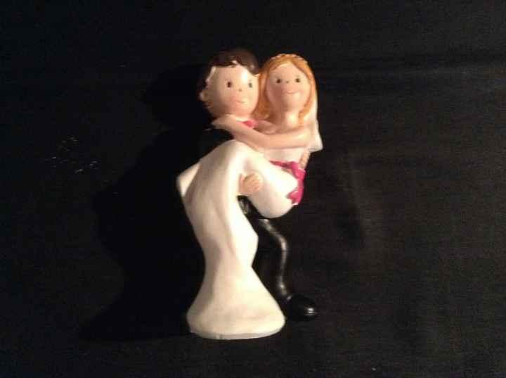 Figurine mariee