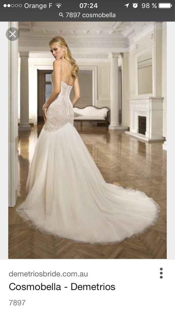 Deux robes pour le mariage ? - 2