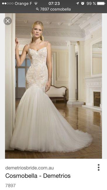 Deux robes pour le mariage ? - 1