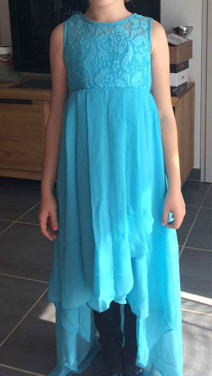 Robe pour ma fille - 1