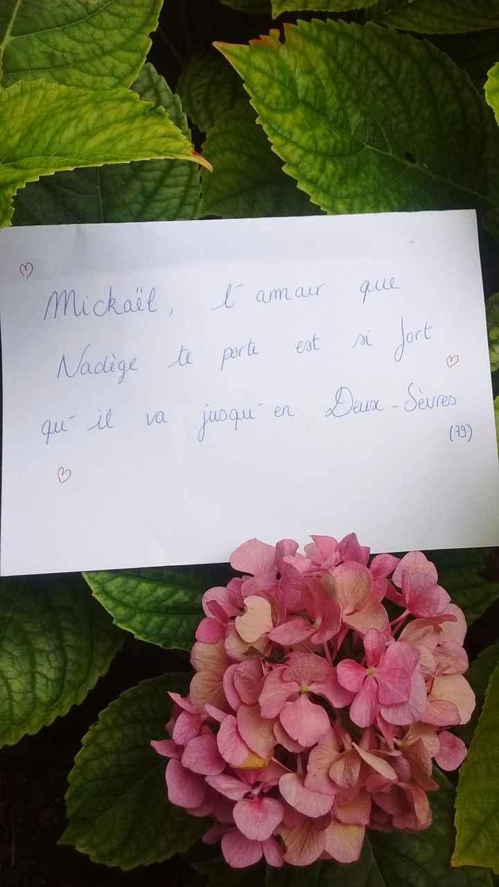 Love note Nadège