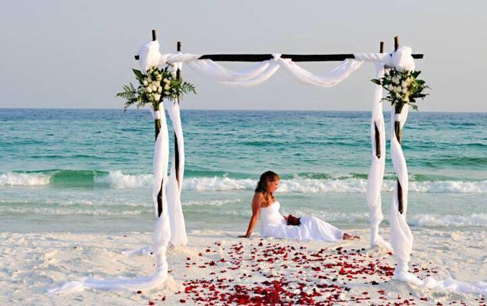 mariage a la plage d coration forum. Black Bedroom Furniture Sets. Home Design Ideas