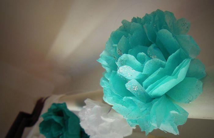 Tutoriel Guirlandes De Fleurs En Papier De Soie Decoration