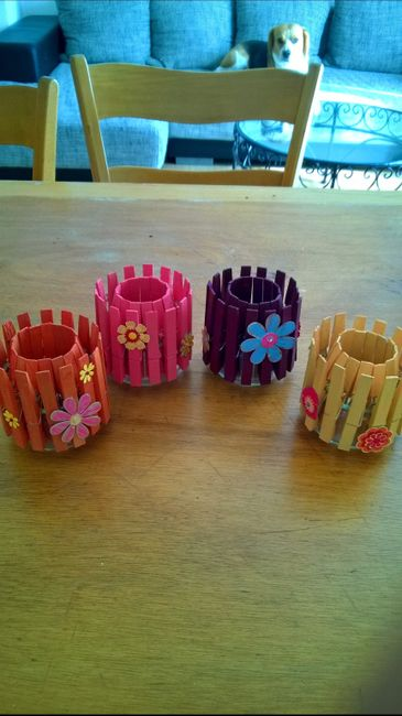 pot crayon table enfant diy photo d coration. Black Bedroom Furniture Sets. Home Design Ideas