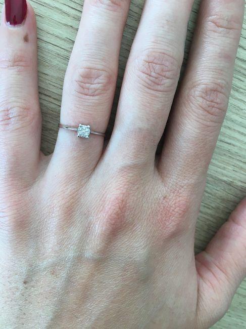 Bague de fiançailles 💍 - 1