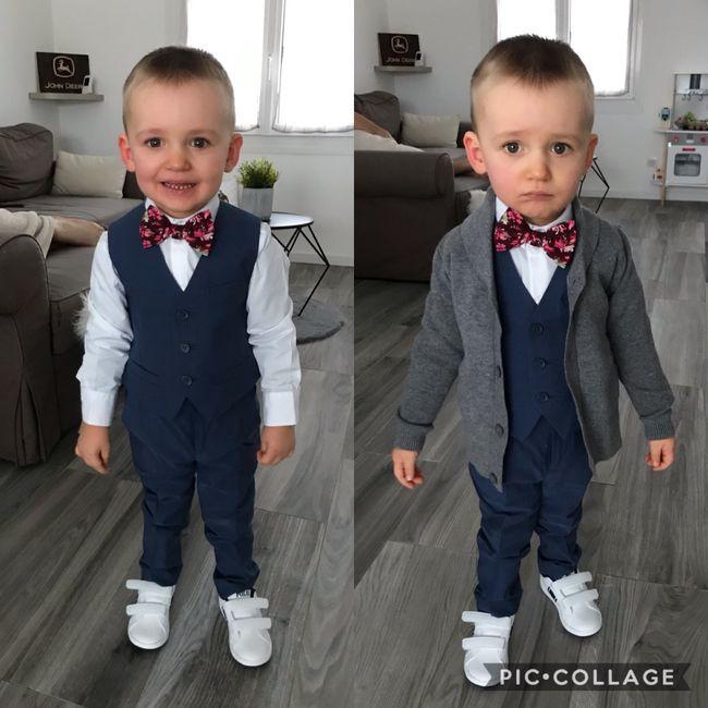 Costume enfant et accessoires marié 1