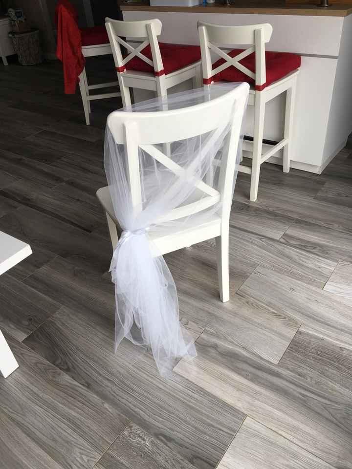 Déco chaises église ⛪️ - 1