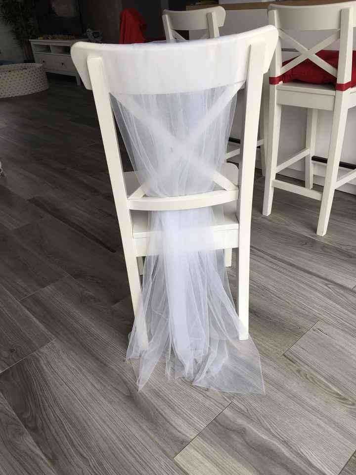Déco chaises église ⛪️ - 2