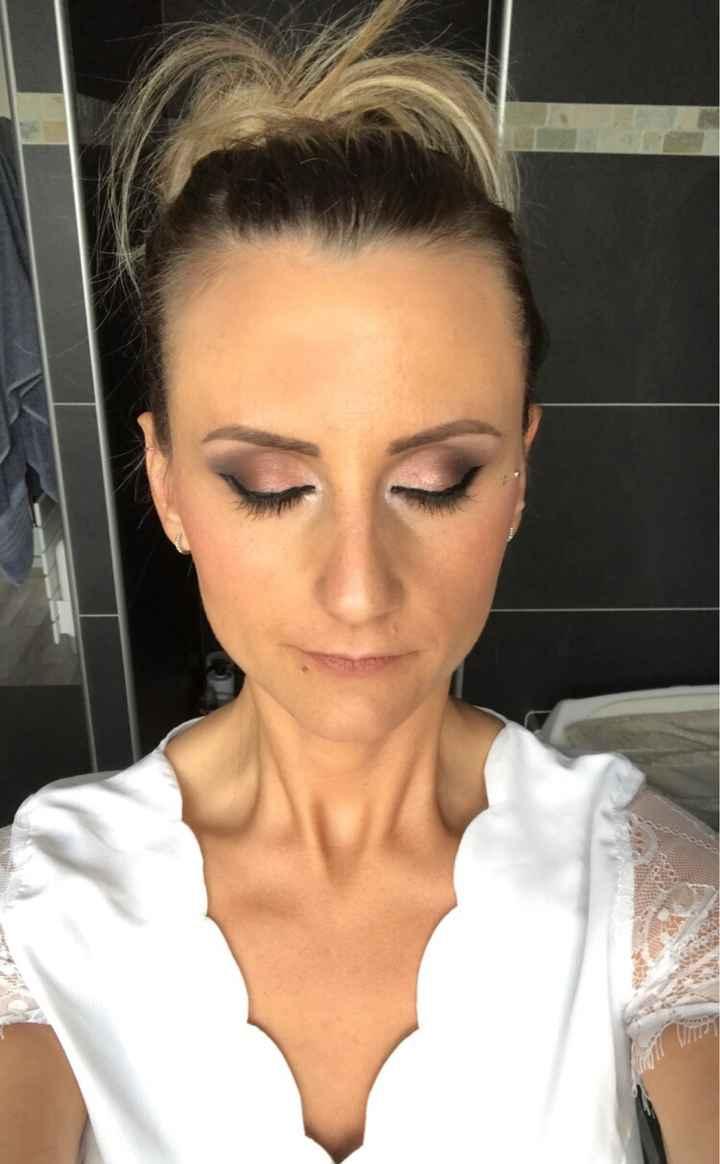 Essai maquillage 💄 - 1