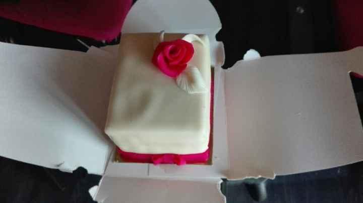Aujourd'hui, on teste le gâteau... - 1