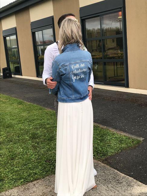 diy - Veste en jean peinte 2