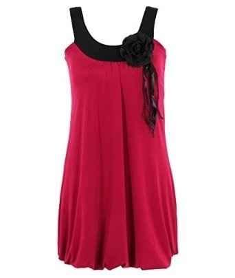 Robe charleston rouge