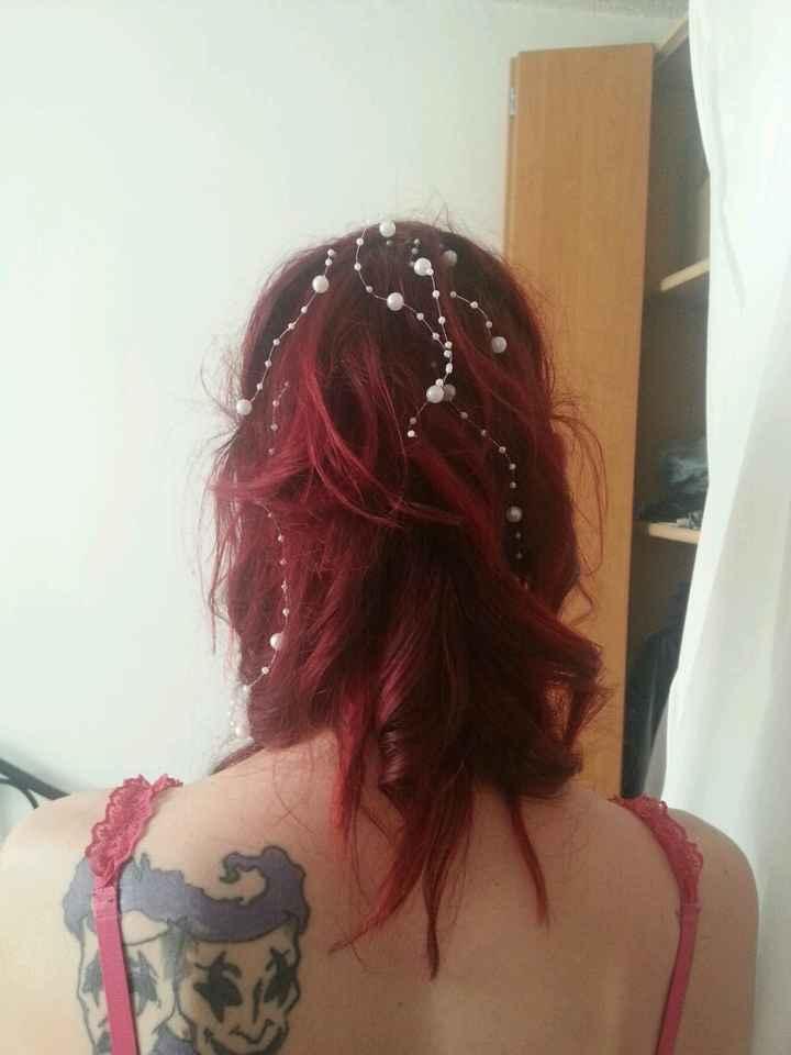 Mon maquillage et ma coiffure !!! - 2