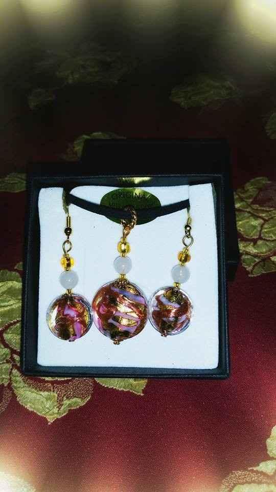 bijoux artisanal verre de murano