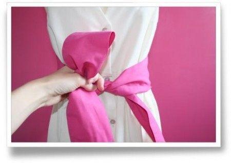 cbd2ca350769 Tuto pour faire un joli noeud de chaise (ou autre) ! - Décoration ...