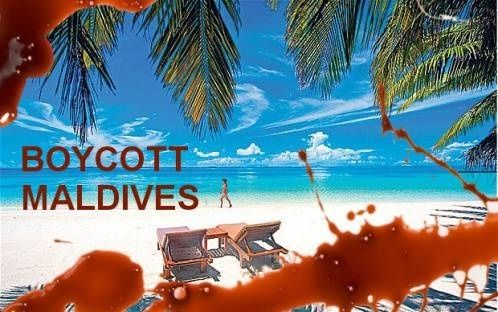 Les Maldives, une destination à boycotter