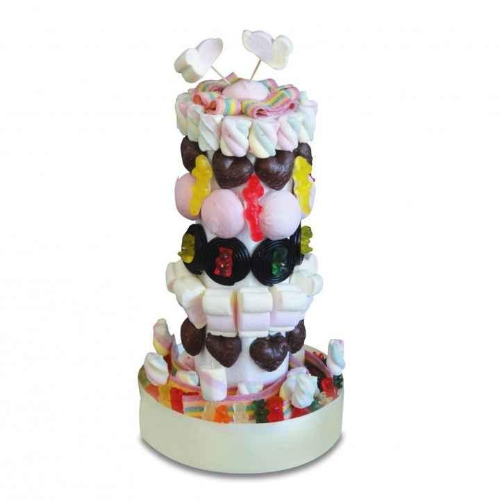 colonne pour bonbons