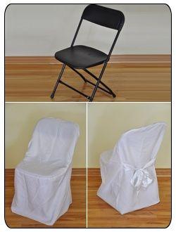 Quelle housses pour des chaises pliantes d coration forum - Housse chaise mariage occasion ...
