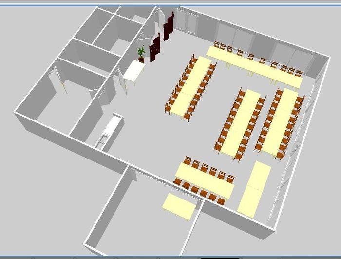 Plan De Salle 3d Page 2 Banquets Forum