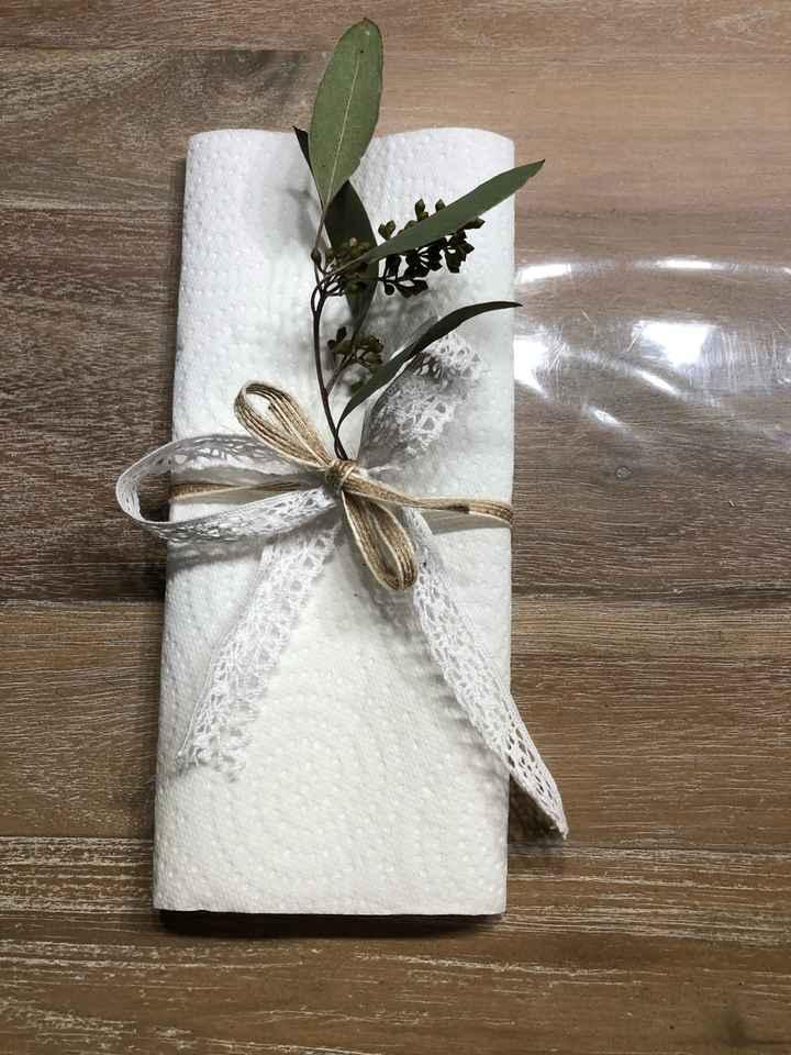 Pliage de vos serviettes - 1